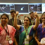 India celebrates Mars Orbital Mission arrival - Copyright AFP/Getty Images.
