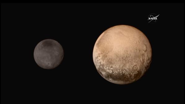Good Morning, Pluto!