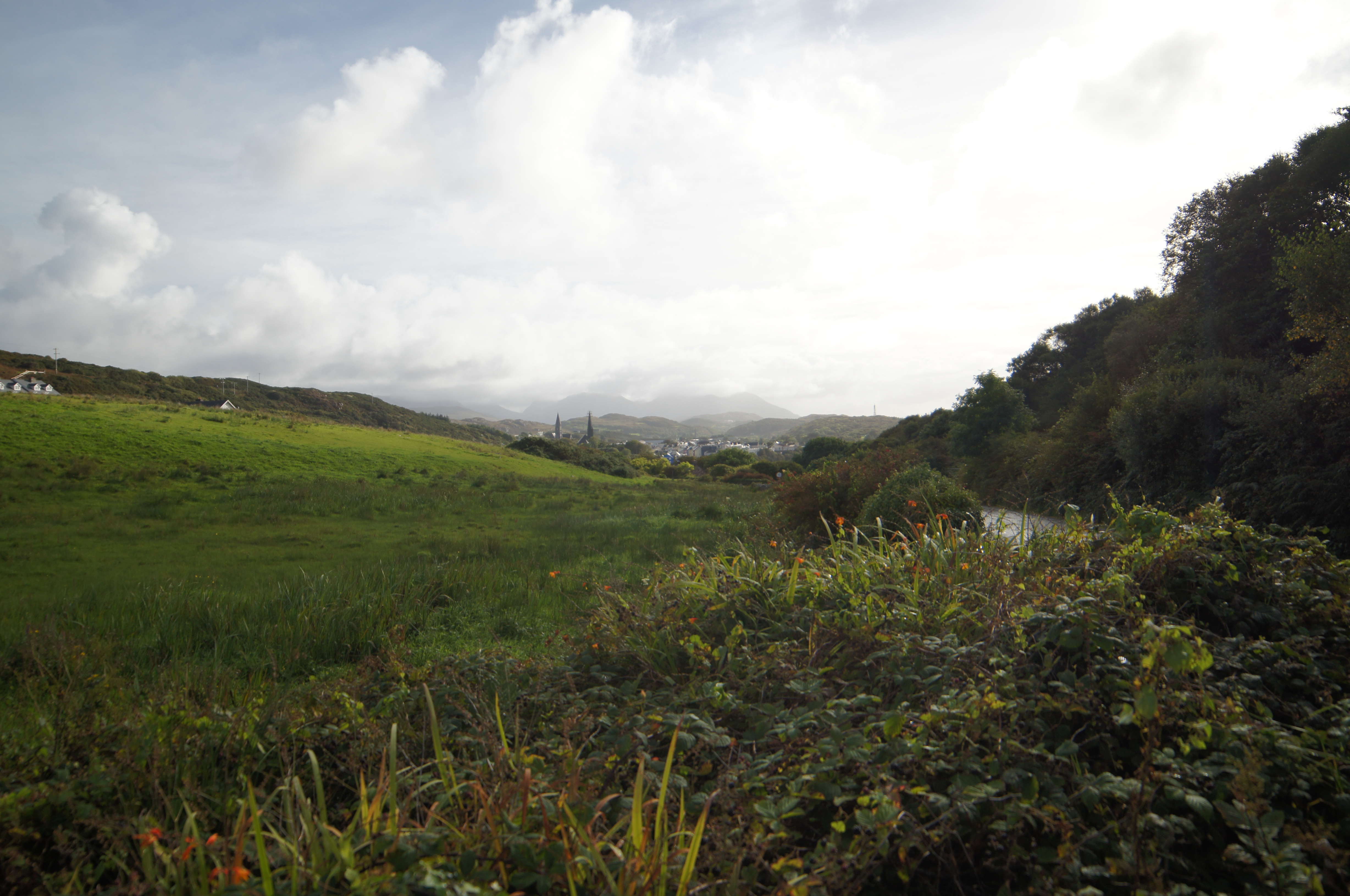 View of Clifden returning from Sky Road loop