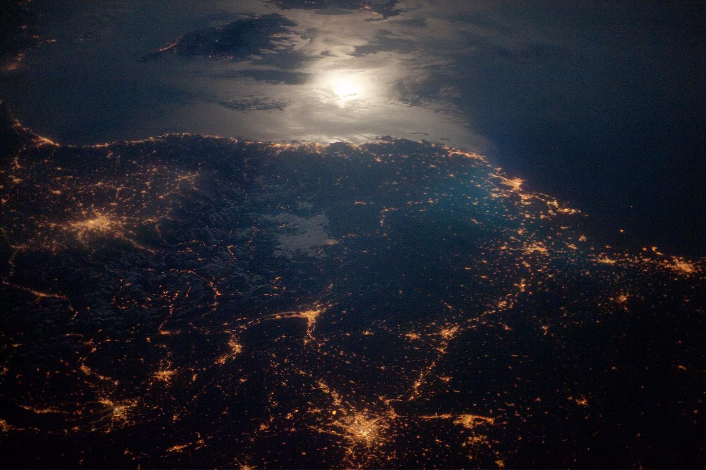 Cities at Night, c. NASA