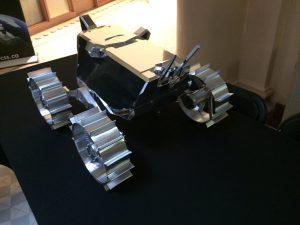 "Hakuto ""White Rabbit"" rover rear view"