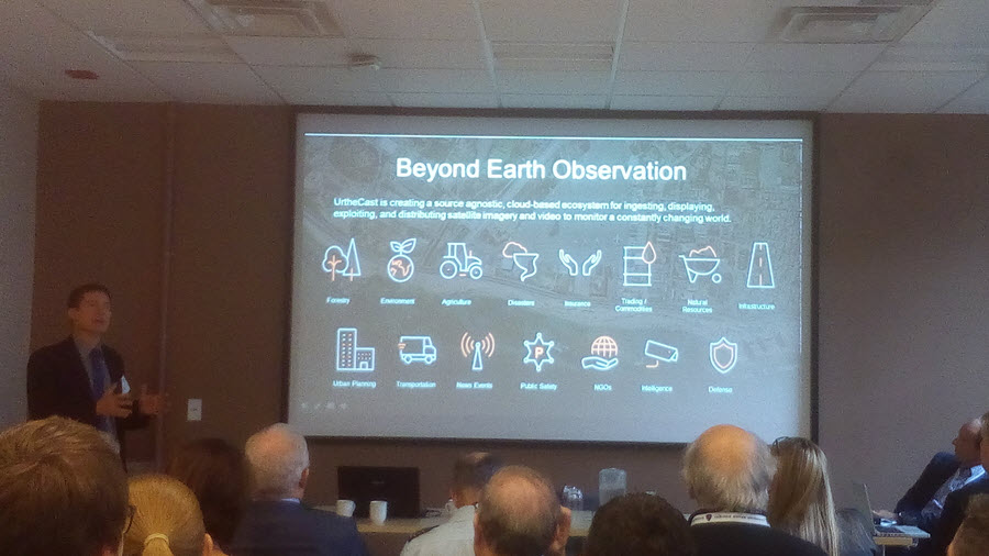 UrtheCast presentation at Missions and Programs