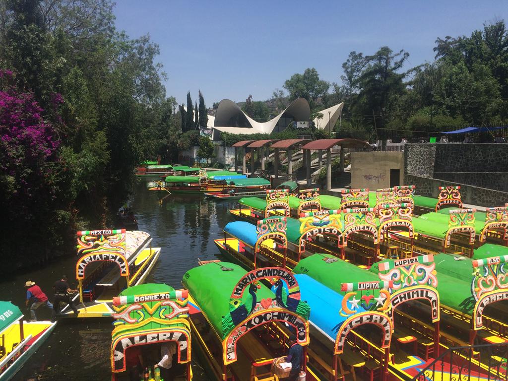 Mexico City Xochimilco Canal Boats
