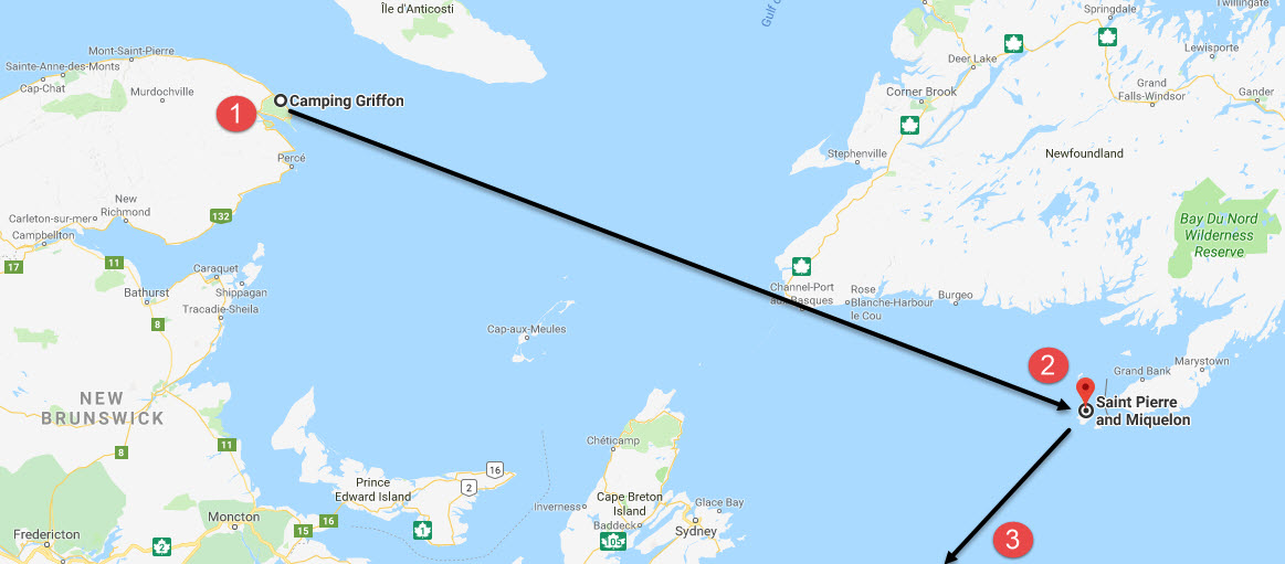 Possible smuggling route during Prohibition?